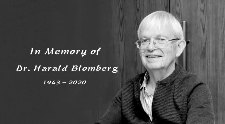In Memory of Harald Blomberg